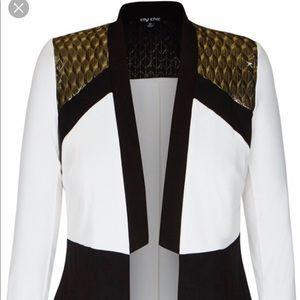 Plus fashion blazer